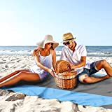 Alfombra de picnic, manta de picnic impermeable grande y facil de...