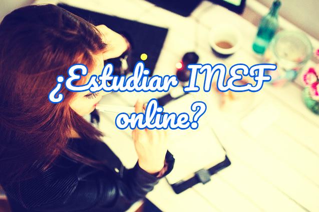 estudiar INEF online