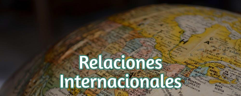 Donde se estudia Relaciones Internacionales