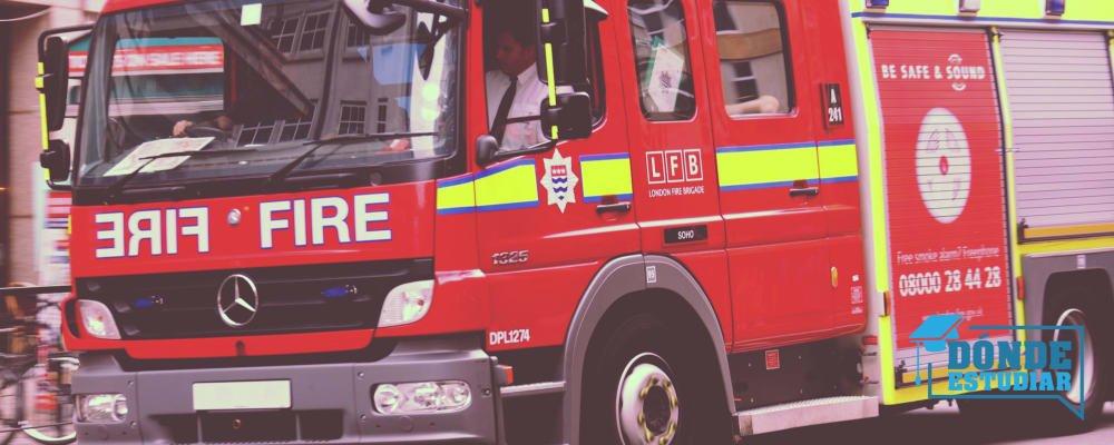 dónde estudiar oposiciones bomberos