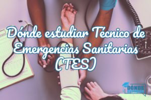 estudiar técnico en emergencias sanitarias