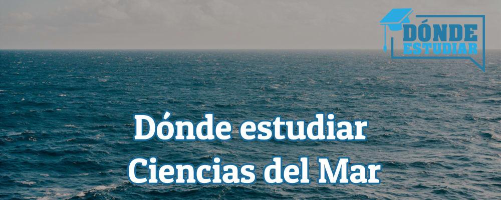 grado en ciencias del mar
