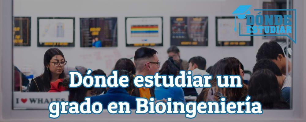 dónde estudiar un grado en bioingeniería