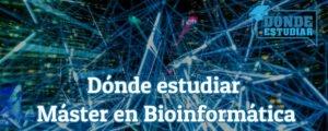 máster en bioinformática