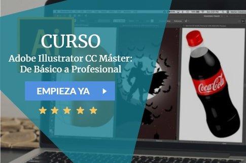 Adobe Illustrator CC Máster: De Básico a Profesional
