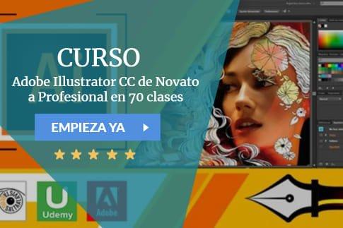 Adobe Illustrator CC de Novato a Profesional en 70 clases