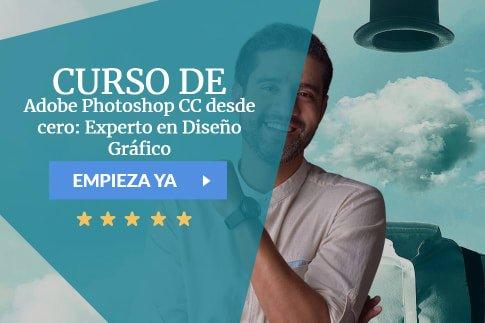 Adobe Photoshop CC desde cero: Experto en Diseño Gráfico