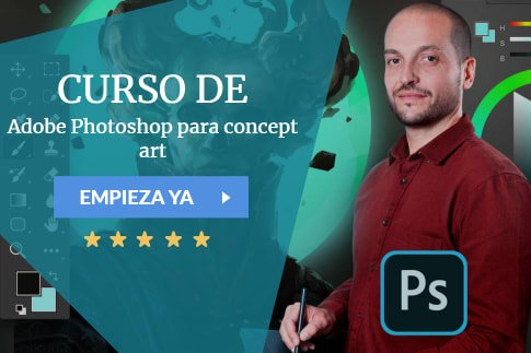 Adobe Photoshop para concept art