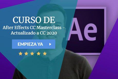 Curso After Effects CC Masterclass - Actualizado a CC 2020