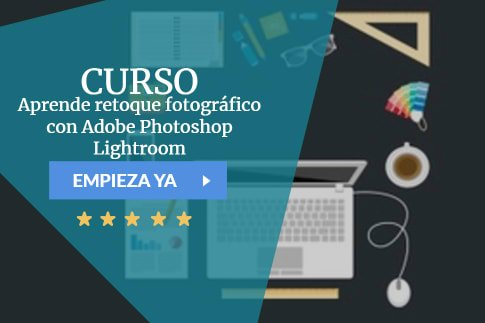 Curso Aprende retoque fotográfico con Adobe Photoshop Lightroom