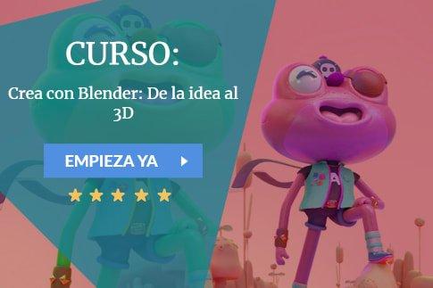 Curso Crea con Blender: De la idea al 3D