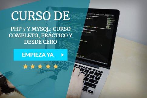 curso php 7 y mysql