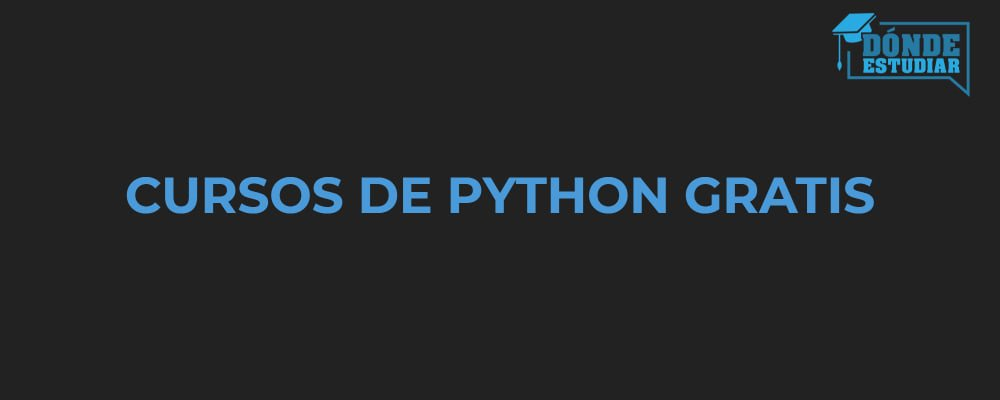 cursos python gratis online