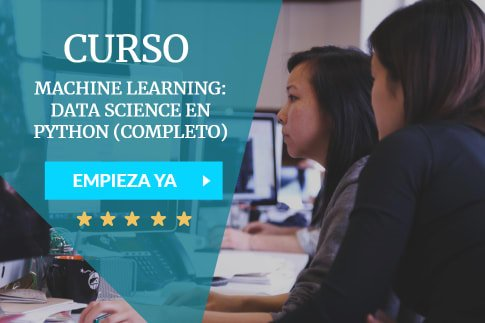 curso de machine learning y data science con python