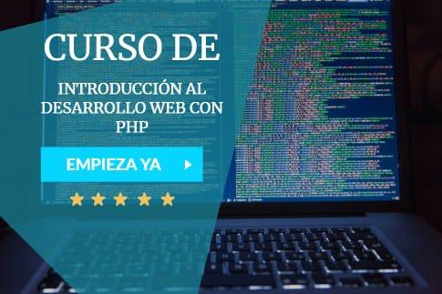 curso de desarrollo web con php