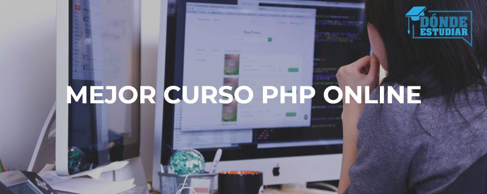 mejor curso php online