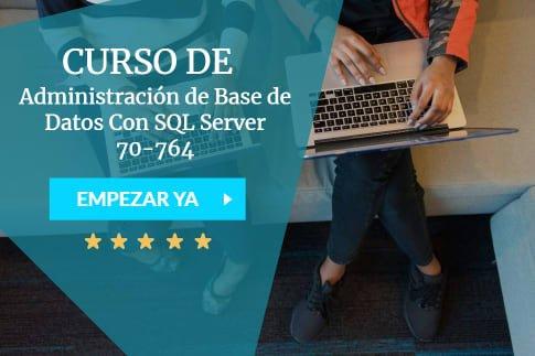 curso de administración de base de datos con SQL