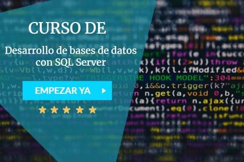 curso de desarrollo de bases de datos con SQL server