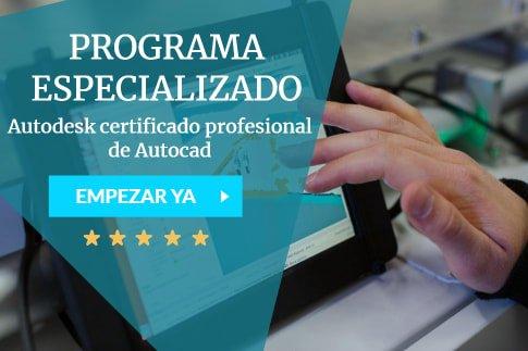 curso autodesk certificado profesional autocad