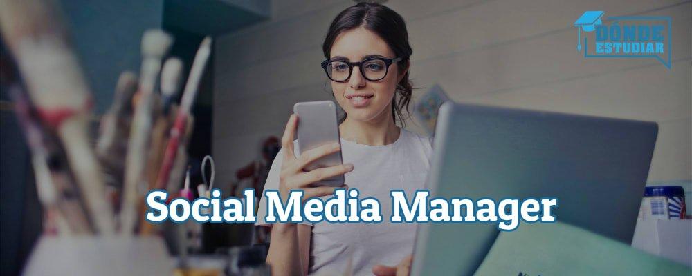 estudiar social media manager