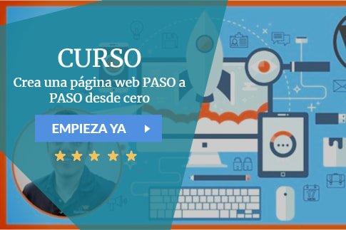 Crea una página web PASO a PASO desde cero
