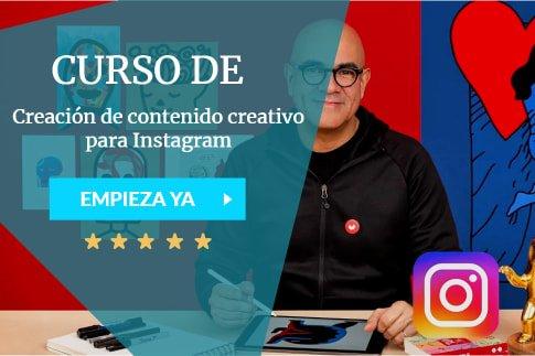 Creación de contenido creativo para Instagram