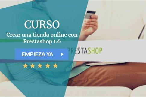 Crear una tienda online con Prestashop 1.6