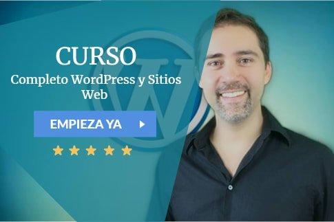 Curso Completo WordPress y Sitios Web