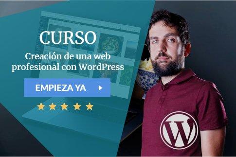 Curso Creación de una web profesional con WordPress