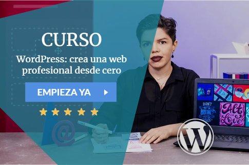 Curso WordPress: crea una web profesional desde cero