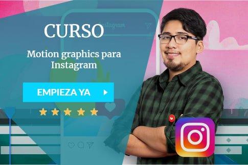 Motion graphics para Instagram