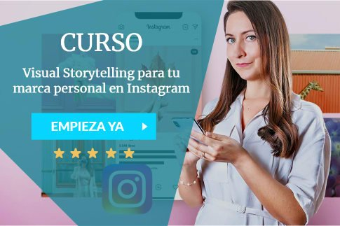 Visual Storytelling para tu marca personal en Instagram