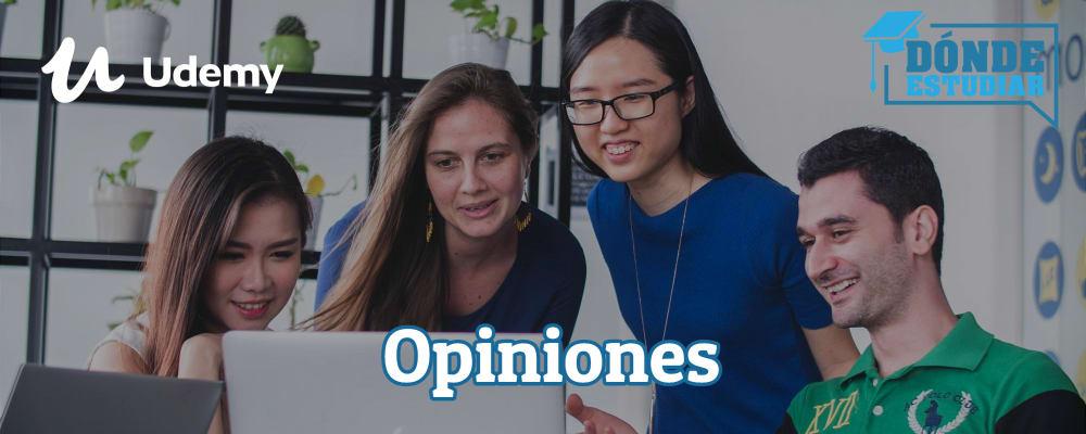 opiniones de los cursos Udemy