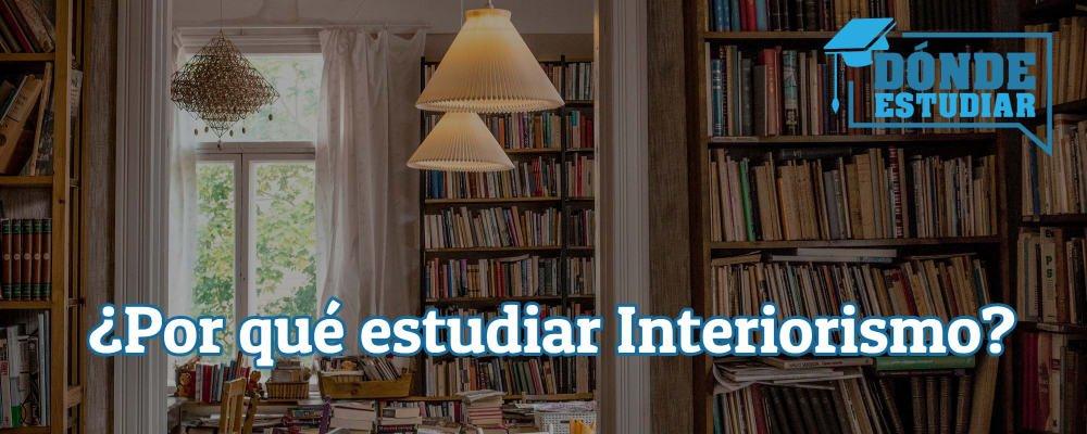 estudiar interiorismo